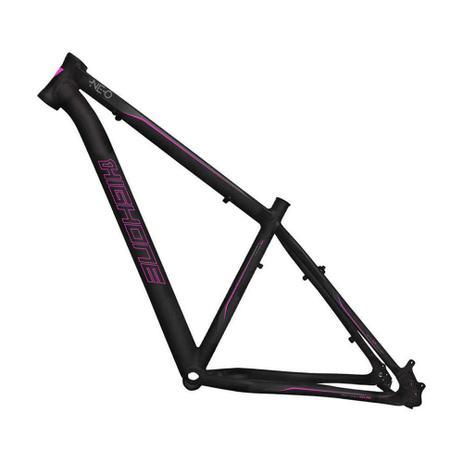 Imagem de Quadro Bicicleta Aro 29 Aluminio 6061 High One - Preto/Rosa