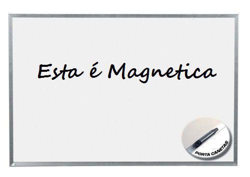 Imagem de Quadro branco magnetico moldura aluminio office 180 x 120 cm - aruforte