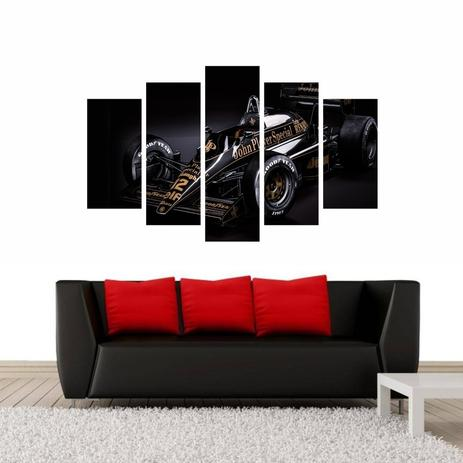 32e5e2a00 Quadro Carro Ayrton Senna Lotus F1 Fórmula 1 - Quadros mais ...