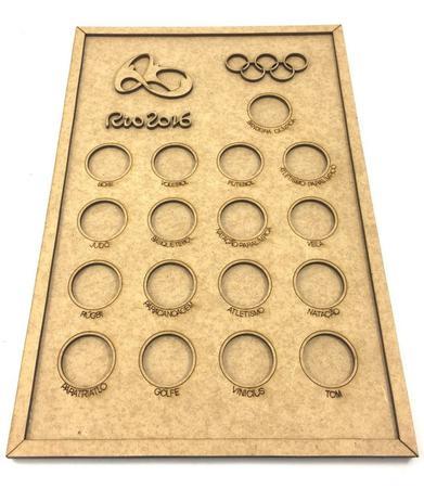 Imagem de Quadro De Moedas - Olimpíadas Rio 2016