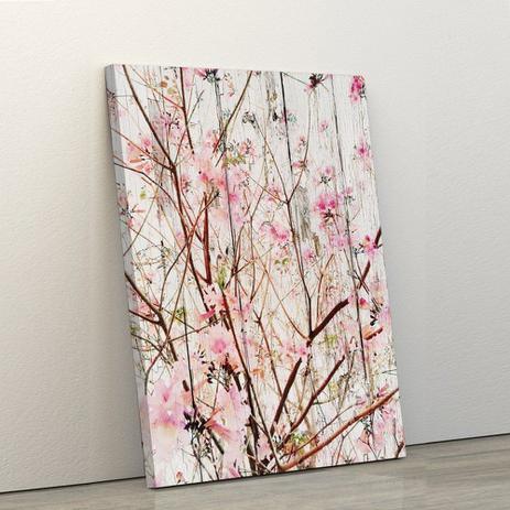 d08151124 Quadro Decorativo 60x90cm Nature Flores Rosas - Artplex - Quadros ...