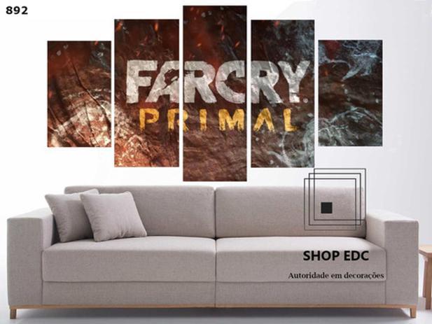 Imagem de Quadro Decorativo Capa Far Cry Primal Game Quarto
