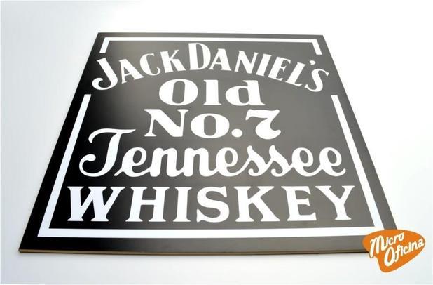Imagem de Quadro Decorativo de Bar - Jack Daniels - Mdf 3mm