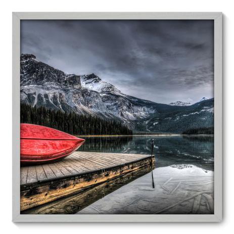 Imagem de Quadro Decorativo - Lago - 70cm x 70cm - 098qnpdb