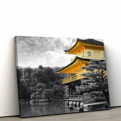 e9da197fc Quadro Decorativo Templo Oriental 40x60cm Sala ou Quarto - Artplex ...
