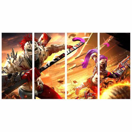 Quadro Jogo Free Fire Games On Line Decorativo 130x65 Cm Quadros Mais Quadro Decorativo Magazine Luiza