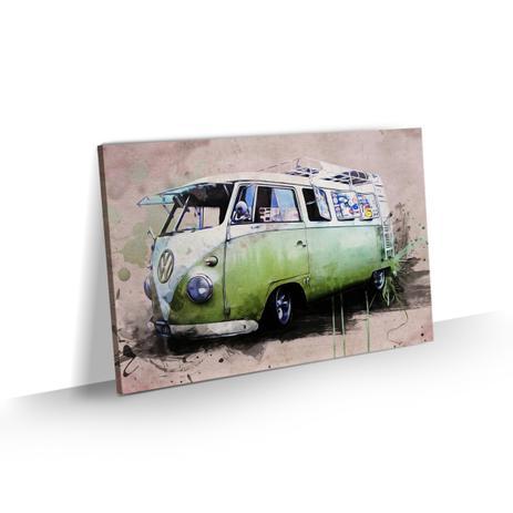 301fdd6c0 Quadro Kombi Retrô Vintage Decoração Sala Quarto 60x40 - Bimper ...