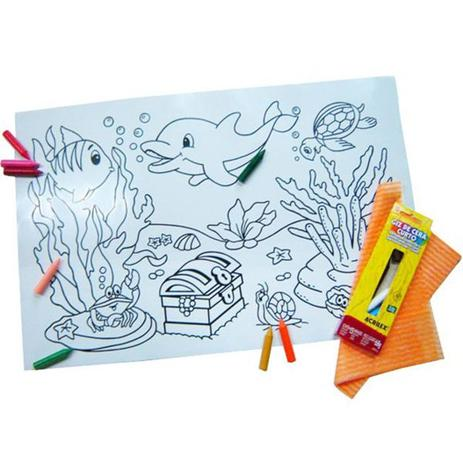 Imagem de Quadro Mágico - Fundo do Mar - Kits for Kids