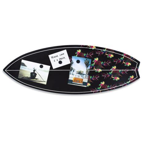 5087e734a Quadro Mural Painel Magnético Para Fotos Prancha de Surf - Gton ...
