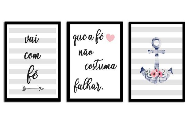 Quadros Decorativos Com Moldura Frases Motivacionais Fourdec