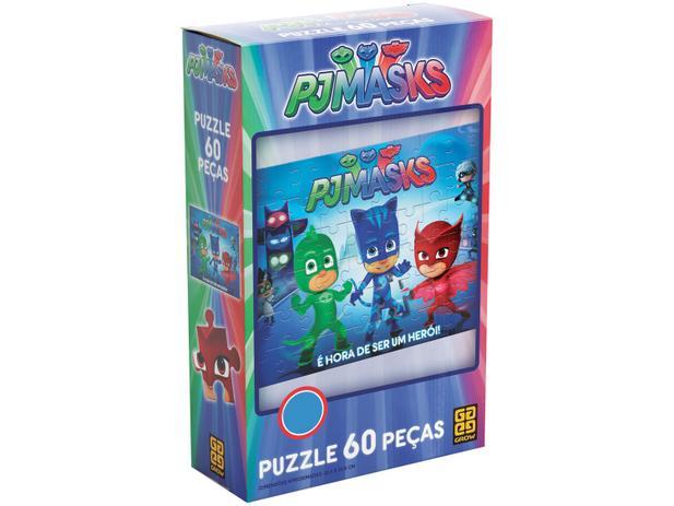 Imagem de Quebra-cabeça 60 Peças Puzzle PJ Masks