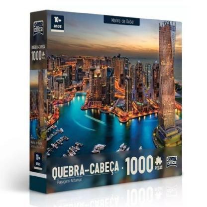 Imagem de Quebra-Cabeça Marina de Dubai Puzzle 1000 Peças