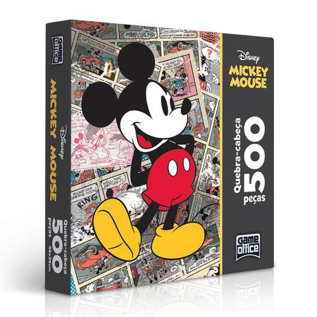 0aab82e27b Quebra-cabeça Mickey Clássicos 500 Peças - Toyster - Disney - Quebra ...