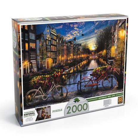 Imagem de Quebra-Cabeça P2000 Verão em Amsterdã - Grow