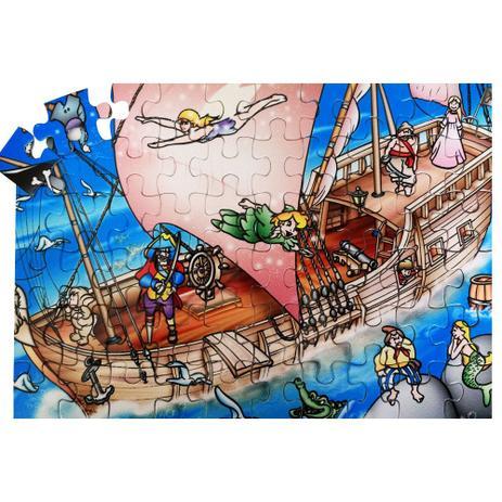 Imagem de Quebra Cabeça - Peter Pan - 60 peças