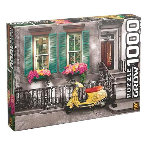 Imagem de Quebra Cabeça Puzzle 1000 Peças Scooter 03607 - Grow