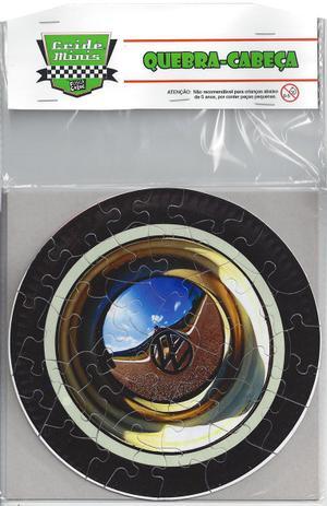 Imagem de Quebra Cabeça Roda do Fusca