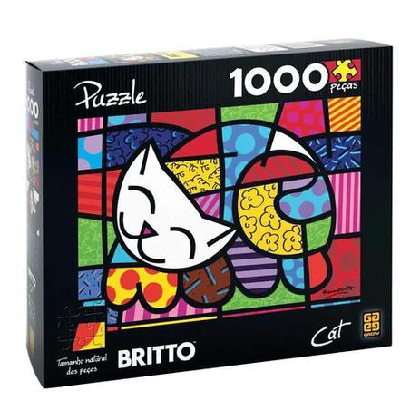 Imagem de Quebra-Cabeça Romero Britto - Cat 1000 peças