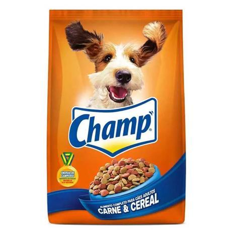 Imagem de Ração Champ Adulto Carne e Cereais