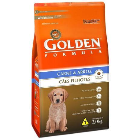 Imagem de Ração golden filhote carne e arroz 15 kg
