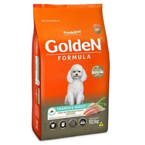 Imagem de Ração Golden Formula Premium Especial Adulto Raças Pequenas Frango e Arroz 10,1kg
