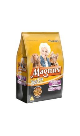 Imagem de Ração Magnus para Cães Pequeno Porte Carne 1kg Todo dia