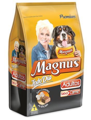 Imagem de Ração Magnus Todo Dia Carne para Cães Adultos