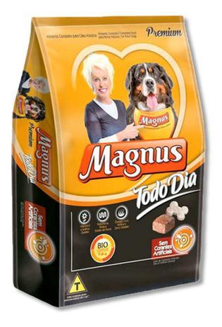 Imagem de Raçao Magnus Todo Dia Sabor Carne Para Cães Adultos - 15 Kg