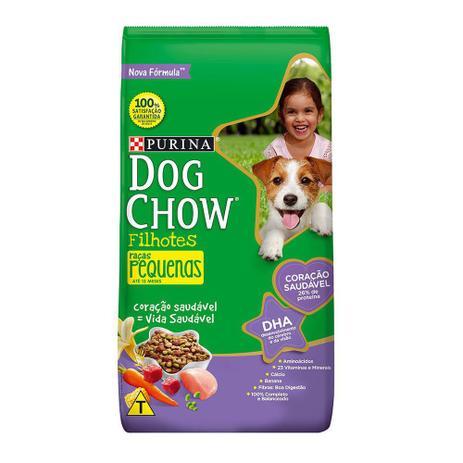 Imagem de Ração para Cães Dog Chow Filhotes Raças Pequenas