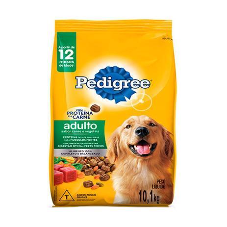 Imagem de Ração para Cães Pedigree Adultos Carne e Vegetais 10,1kg