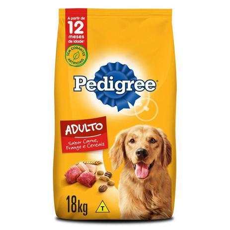 Imagem de Ração Pedigree Carne Frango e Cereais Para Cães Adultos Raças Médias e Grandes 18 kg