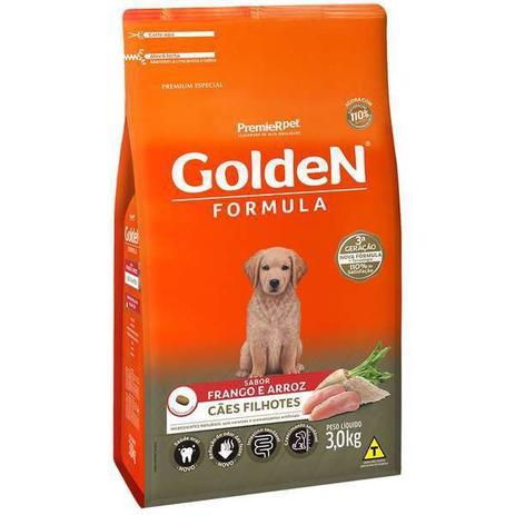 Imagem de Ração Premier Pet Golden Formula de Frango e Arroz para Cães Filhotes de Raças Pequenas