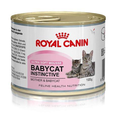 Imagem de Ração Royal Canin Lata Baby Cat Instinctive Para Gatos Filhotes  195 G