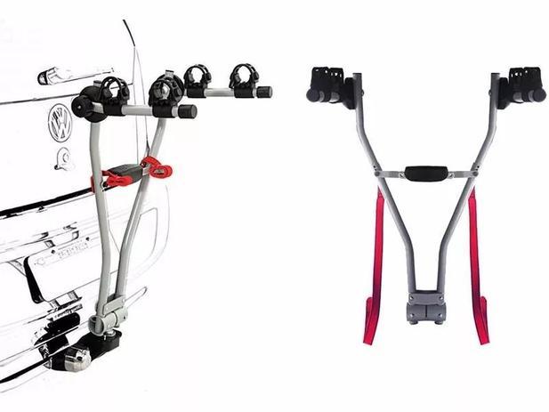 Imagem de Rack Transbike Traseiro De Engate Easy 2 Eqmax Para 2 Bikes
