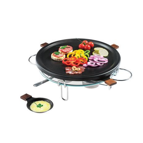 Imagem de Raclette-Grill 8 peças 37 cm Preto Forma