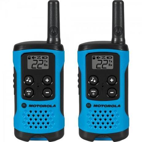 Imagem de Rádio Comunicador Talkabout 25km T100BR Azul MOTOROLA