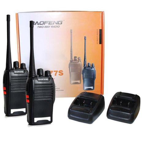 Imagem de Radio Comunicador Walk Talk BF777S com Fone de Ouvido