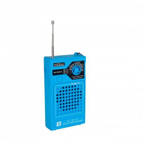 Imagem de Rádio FM OC OM Dunga VII Azul Motobras RM-PSMP32