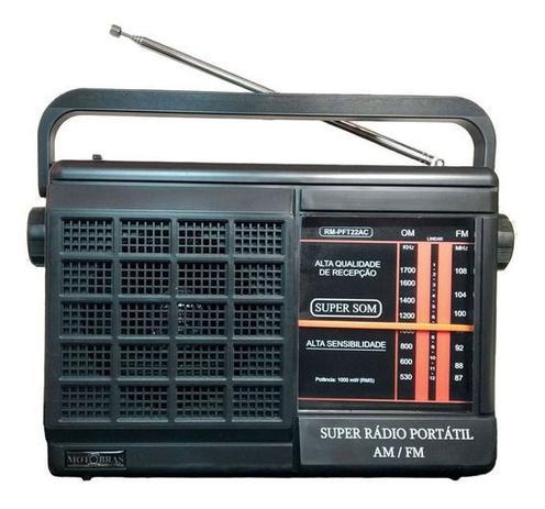 Imagem de Rádio Motobrás Rm-pft22ac 2 Faixas Am Fm