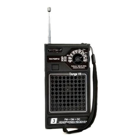 Imagem de Rádio Portátil 3 Faixas AM/FM RM-PSMP32 - Motobras