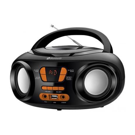 Imagem de Rádio Portátil Mondial Entrada USB Bluetooth Display Digital BX-19