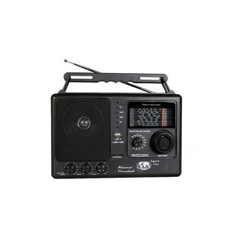 Imagem de Rádio Portátil Motobras 12 Fxs. AM/FM/OC -Comandos Indep. de Sintonia Fina