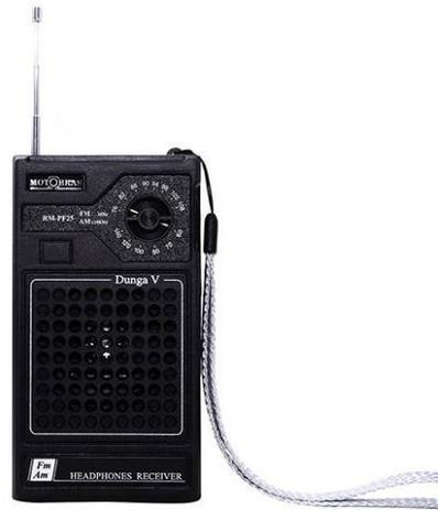 Imagem de Rádio Portátil Motobras, AM/FM, Dunga