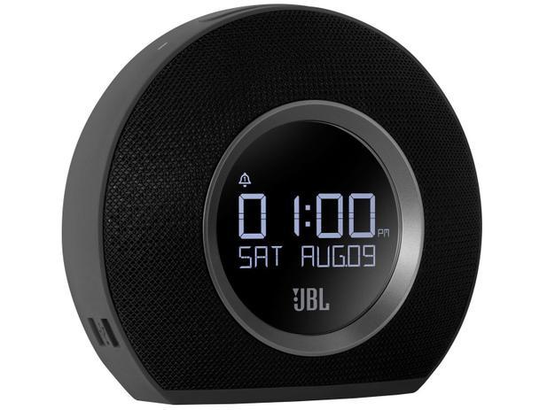 84c5872ab43 Rádio-Relógio Bluetooth Alarme FM Display 10W - Horizon JBL - Rádio ...