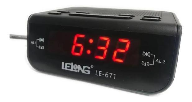Imagem de Rádio Relógio Com Alarme LE-671