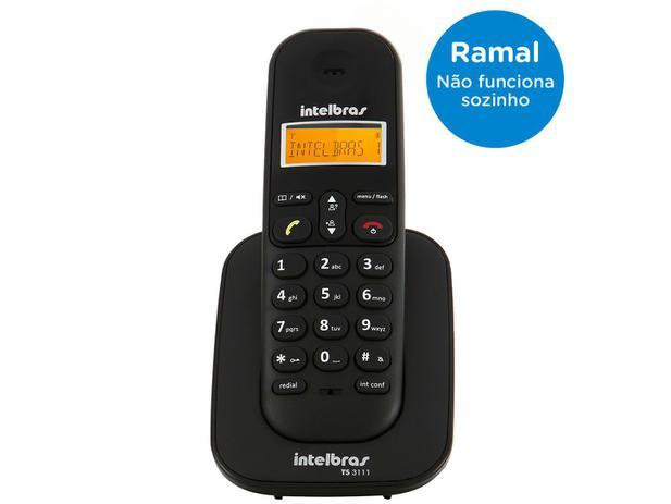 Ramal Sem Fio Intelbras TS 3111 - para Bases TS 3110, TS 3130, TS 40 ID ou TS 60 V