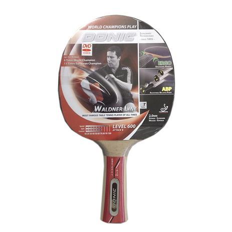 Raquete de Tênis de Mesa Waldner 600 com DVD Donic - Donic schildkrot table  tennis 269e399cd60a4
