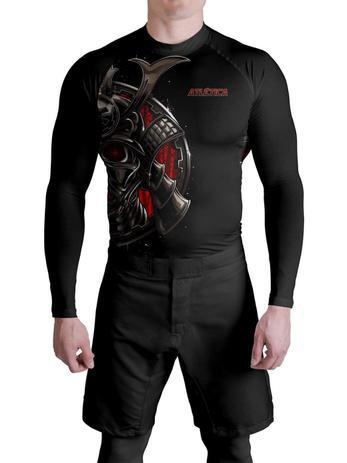 Imagem de Rash Guard Men Samurai Armor Atlética