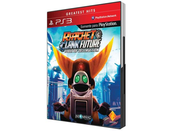 Ratchet  Clank Future Tools of Destruction - para PS3 - Sony