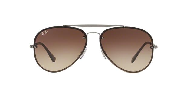 6bf6f937383a6 Ray-Ban Aviador Blaze RB3584N 004 13 Bronze Lente Marrom Degradê Tam ...